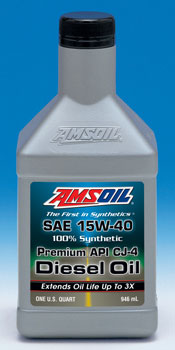 Amsoil's 15W40 Synthetic CJ4 Rated Oil