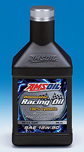 Amsoil's heavy hitter - 15W50 Racing Synthetic - The best ever for the track!