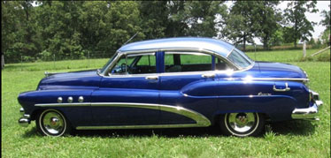 this 1952 Buick can idle all day thanks to amsoil synthetics. Smoother too!