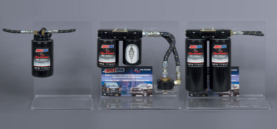 New bypass kits featuring AMSOIL's strengthened non-warping machined adapters.