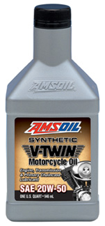 Amsoil Motorcycle and transmission 20W50 MCV