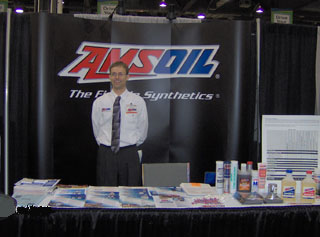 A recent Amsoil booth at the Lubrication Excellence Convention in Columbus, OH - Where all the greatest lubricant minds come together for lectures, certifications and product knowledge relating to running manufacturing plants and mines more efficiently. We were proud to be recognized by visitors as the product they could really depend on to solve the most demanding lubrication problems.