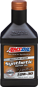Amsoil 0W30 Series 2000 is now te Signature Series - Improved August 2007.