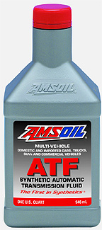 Amsoil ATF - Lowers temperatures significantly and transfers power more efficiently. Now the best oxidation resistance available per testing.