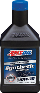 Amsoil 10W30 100% Synthetic - Covers many applications
