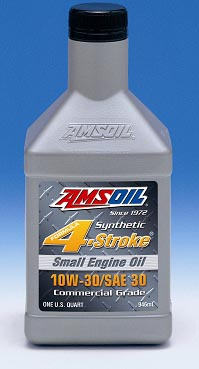 New Amsoil ASE for Small Commercial Engines