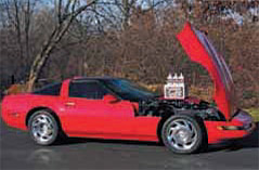 Corvette owners comment on improved feel, temperature and throttle response with AMSOIL AMO 10W40