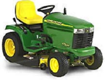 Primary application is garden and lawn tractors.