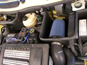 Alta cold air intake with AMSOIL EAAU-3570