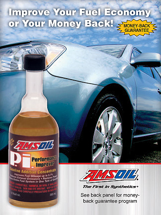 Amsoil Performance Improver with a money back guarantee!