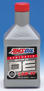 AMSOIL's new OE - for Original Equipment Factory Requirements. 5W30 for most vehicles.