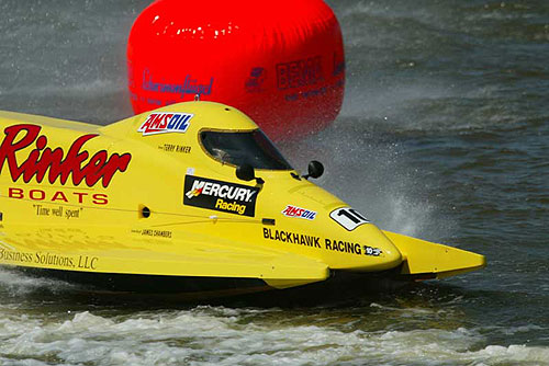AMSOIL's popular in Peoria not only only with fleets but in top racing. (Rinker wins in Kankakee)