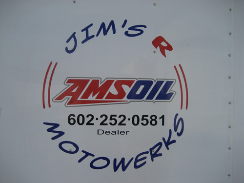 Jim's Motorwerks in Phoenix, AZ - your full time AMSOIL source.
