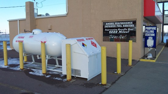 Sioux Falls Propane Refilling Station