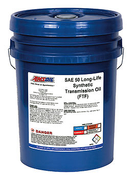 Amsoil Long Life SAE 50 Transmission Oil for your rig.