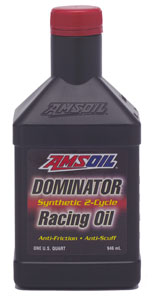 AMSOIL's most notorious racing product. The product of Team AMSOIL is the Dominator.