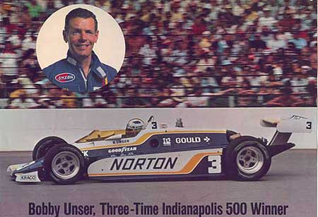 Bobby Unser - Long time user of the best! - AMSOIL