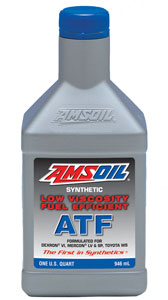 New Amsoil Low Viscosity Automatic Transmission Fluid - Also meets net Toyota WS
