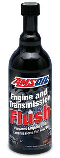 Don't know the history? Clean out the deposits with AMSOIL's detergent flush!