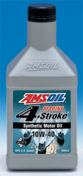 AMSOIL Marine 4-Stroke WCF 10W40 from the founders of synthetic motor oils.
