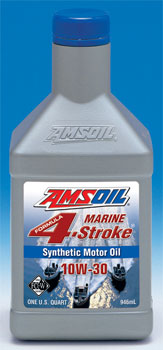 AMSOIL Marine 4-Stroke WCF 10W40 from the founders of synthetic 10W30 motor oils.