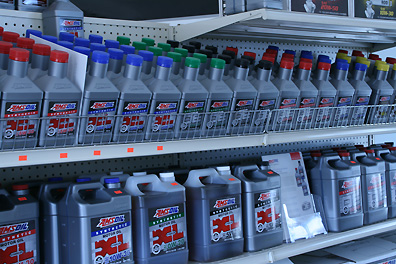 amsoil XL adds color to your auto parts store