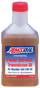 AMSOIL's New Tractor Hydraulic Transmission Oil 5W30