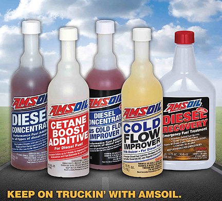 Amsoil's full diesel additive lineup or products!