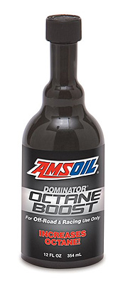 Amsoil Dominator Octane Boost works with even the lowest octane!