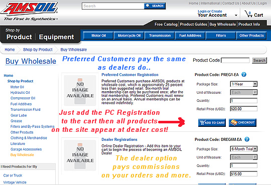 PC Registration Example