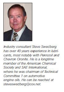 Lubes & Greases Feature writer Steve Swedberg